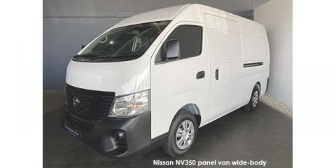 Nissan NV350 panel van wide-body 2.5dCi - Image credit: © 2021 duoporta. Generic Image shown.