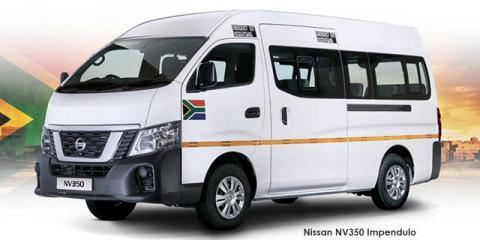 Nissan NV350 Impendulo 2.5i 16-seater - Image credit: © 2021 duoporta. Generic Image shown.
