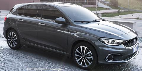 Fiat Tipo hatch 1.4 Lounge - Image credit: © 2021 duoporta. Generic Image shown.