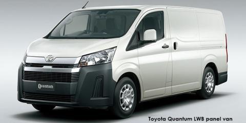 Toyota Quantum 2.8 LWB panel van - Image credit: © 2021 duoporta. Generic Image shown.