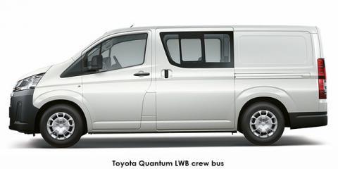 Toyota Quantum 2.8 LWB crew cab - Image credit: © 2021 duoporta. Generic Image shown.