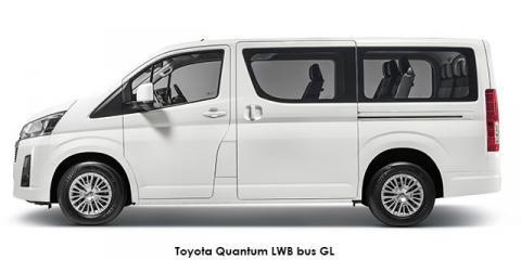 Toyota Quantum 2.8 LWB bus 11-seater GL - Image credit: © 2020 duoporta. Generic Image shown.