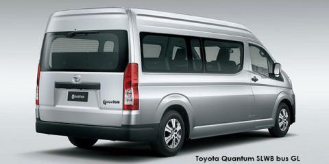 Toyota Quantum 2.8 SLWB bus 14-seater GL - Image credit: © 2021 duoporta. Generic Image shown.