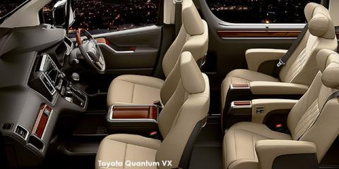 Toyota Quantum 2.8 LWB bus 9-seater VX Premium - Image credit: © 2021 duoporta. Generic Image shown.