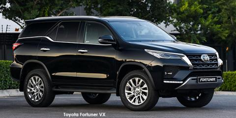 Toyota Fortuner 2.8GD-6 - Image credit: © 2021 duoporta. Generic Image shown.