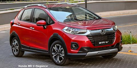 Honda WR-V 1.2 Elegance - Image credit: © 2021 duoporta. Generic Image shown.