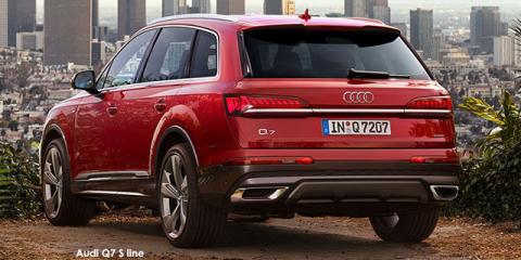 Audi Q7 45TDI quattro S line - Image credit: © 2021 duoporta. Generic Image shown.