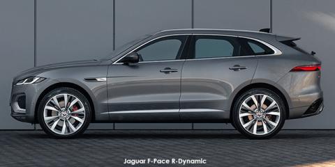 Jaguar F-Pace P250 AWD R-Dynamic SE - Image credit: © 2021 duoporta. Generic Image shown.