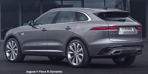 Jaguar F-Pace D300 AWD R-Dynamic SE - Image credit: © 2021 duoporta. Generic Image shown.