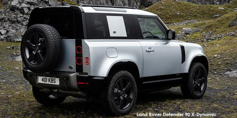 Land Rover Defender 90 D240 X-Dynamic SE - Image credit: © 2021 duoporta. Generic Image shown.
