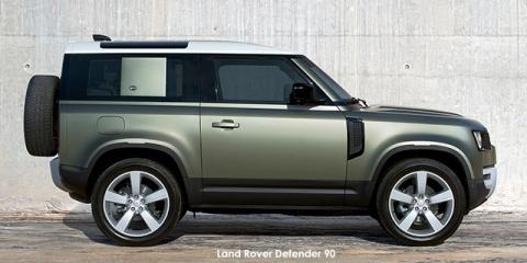 Land Rover Defender 90 D240 First Edition - Image credit: © 2021 duoporta. Generic Image shown.