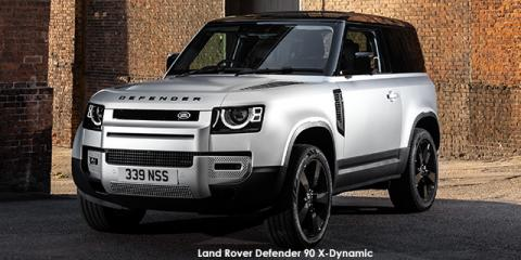 Land Rover Defender 90 D300 X-Dynamic SE - Image credit: © 2021 duoporta. Generic Image shown.