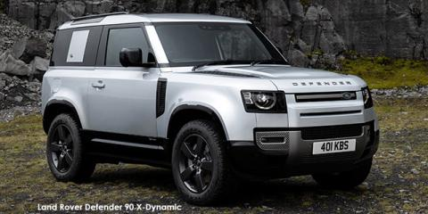 Land Rover Defender 90 P400 X-Dynamic HSE - Image credit: © 2021 duoporta. Generic Image shown.