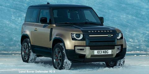 Land Rover Defender 90 P400 X - Image credit: © 2021 duoporta. Generic Image shown.