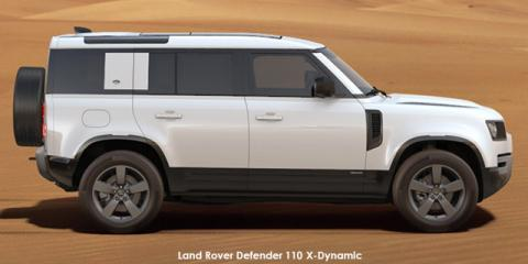 Land Rover Defender 110 D300 X-Dynamic HSE - Image credit: © 2021 duoporta. Generic Image shown.