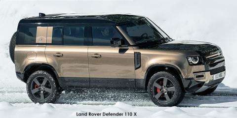 Land Rover Defender 110 D300 X - Image credit: © 2021 duoporta. Generic Image shown.