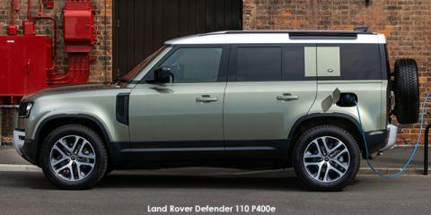 Land Rover Defender 110 P400e S - Image credit: © 2021 duoporta. Generic Image shown.