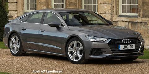 Audi A7 Sportback 55TFSI quattro - Image credit: © 2021 duoporta. Generic Image shown.
