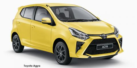 Toyota Agya 1.0 auto - Image credit: © 2021 duoporta. Generic Image shown.