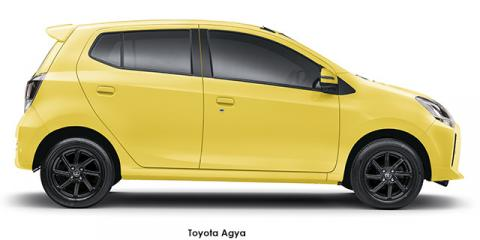 Toyota Agya 1.0 auto (audio) - Image credit: © 2021 duoporta. Generic Image shown.