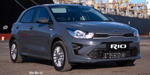 Kia Rio hatch 1.4 LS auto - Image credit: © 2021 duoporta. Generic Image shown.