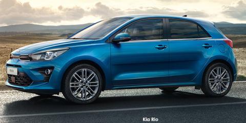 Kia Rio hatch 1.4 LX auto - Image credit: © 2021 duoporta. Generic Image shown.