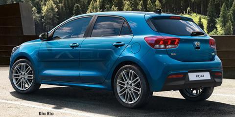 Kia Rio hatch 1.4 EX auto - Image credit: © 2021 duoporta. Generic Image shown.