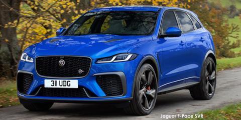Jaguar F-Pace SVR - Image credit: © 2021 duoporta. Generic Image shown.