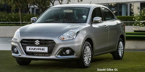 Suzuki DZire 1.2 GA - Image credit: © 2021 duoporta. Generic Image shown.