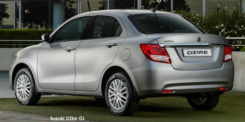 Suzuki DZire 1.2 GL auto - Image credit: © 2021 duoporta. Generic Image shown.