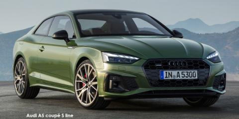 Audi A5 coupe 40TFSI - Image credit: © 2021 duoporta. Generic Image shown.