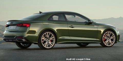 Audi A5 coupe 40TDI quattro S line - Image credit: © 2021 duoporta. Generic Image shown.