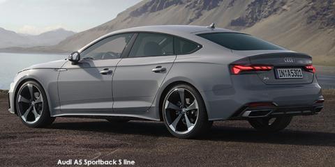 Audi A5 Sportback 40TFSI S line - Image credit: © 2021 duoporta. Generic Image shown.