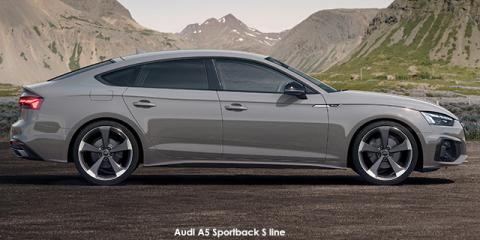 Audi A5 Sportback 40TDI quattro S line - Image credit: © 2021 duoporta. Generic Image shown.