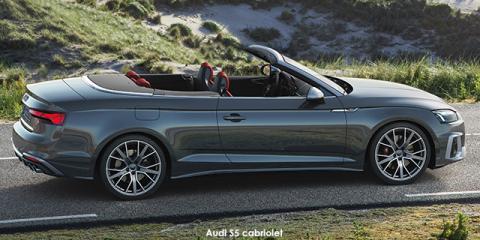 Audi S5 TFSI cabriolet quattro - Image credit: © 2021 duoporta. Generic Image shown.