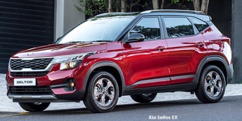 Kia Seltos 1.6 EX auto - Image credit: © 2021 duoporta. Generic Image shown.