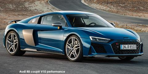 Audi R8 coupe V10 performance quattro - Image credit: © 2021 duoporta. Generic Image shown.