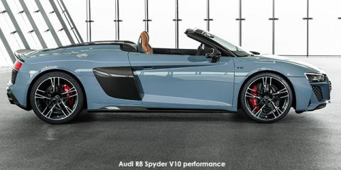 Audi R8 Spyder V10 performance quattro - Image credit: © 2021 duoporta. Generic Image shown.