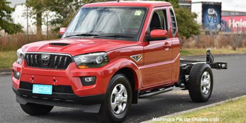 Mahindra Pik Up 2.2CRDe S4 chassis cab - Image credit: © 2021 duoporta. Generic Image shown.