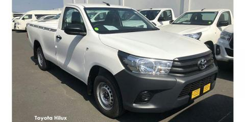 Toyota Hilux 2.0 chassis cab - Image credit: © 2021 duoporta. Generic Image shown.