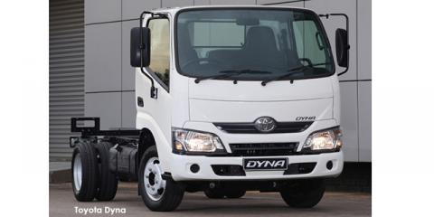 Toyota Dyna 150 chassis cab - Image credit: © 2021 duoporta. Generic Image shown.