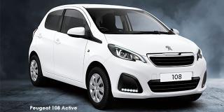 Peugeot 108 - Image credit: © 2021 duoporta. Generic Image shown.