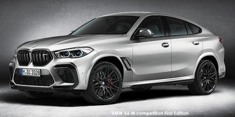 BMW X6 M competition First Edition - Image credit: © 2021 duoporta. Generic Image shown.