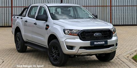 Ford Ranger 2.2TDCi 4x4 XL Sport - Image credit: © 2021 duoporta. Generic Image shown.