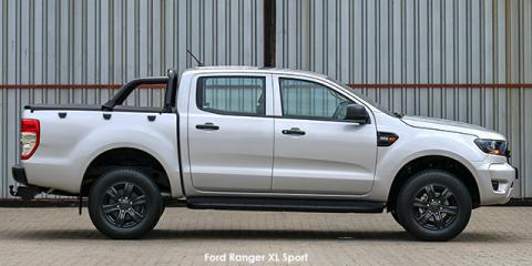 Ford Ranger 2.2TDCi double cab 4x4 XL Sport - Image credit: © 2021 duoporta. Generic Image shown.