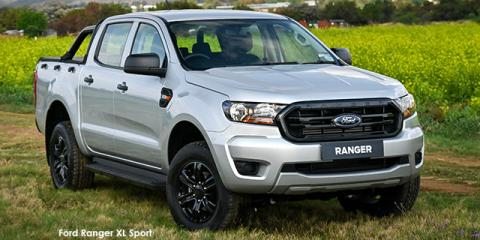 Ford Ranger 2.2TDCi double cab 4x4 XL Sport auto - Image credit: © 2021 duoporta. Generic Image shown.