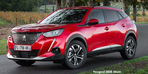 Peugeot 2008 1.2T 96kW Active - Image credit: © 2021 duoporta. Generic Image shown.