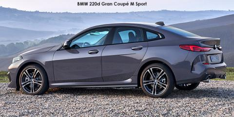 BMW 220i Gran Coupe - Image credit: © 2021 duoporta. Generic Image shown.