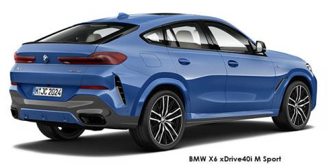 BMW X6 xDrive30d M Sport - Image credit: © 2021 duoporta. Generic Image shown.