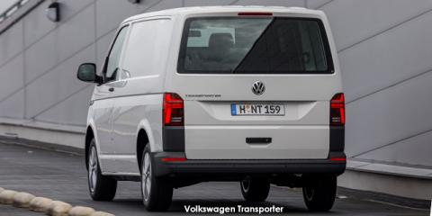 Volkswagen Transporter 2.0TDI 110kW panel van LWB - Image credit: © 2021 duoporta. Generic Image shown.